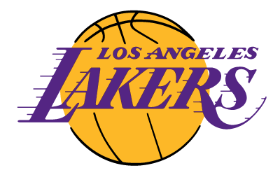 printable los angeles lakers logo nba team logos pinterest los