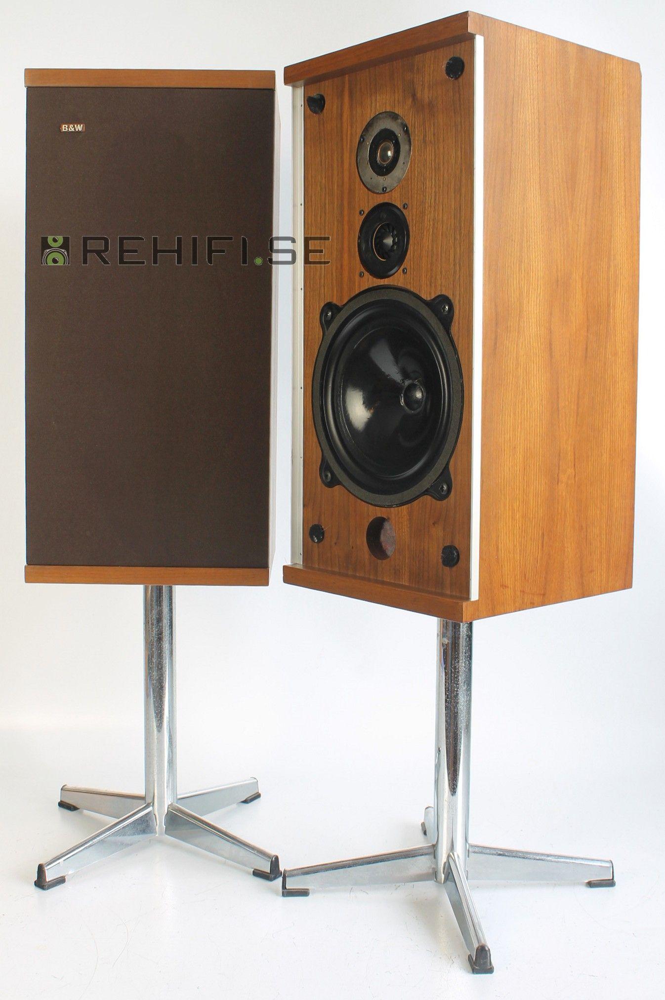 Bowers & Wilkins B&W DM4 | Hifi | B w speakers, Sound