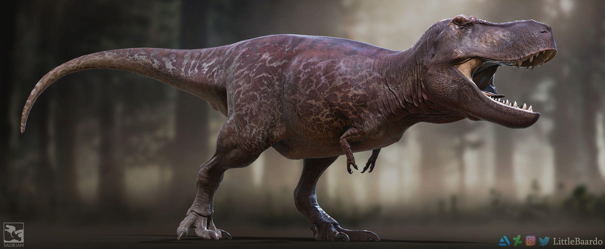 Tyrannosaurus Redesign 2018 Saurian In 2020 Tyrannosaurus Tyrannosaurus Rex Prehistoric Animals