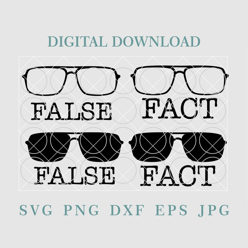 Sunglasses Svgdwight Schrute Fact False Svgthe Office Etsy The Office Shirts False Facts The Office Show
