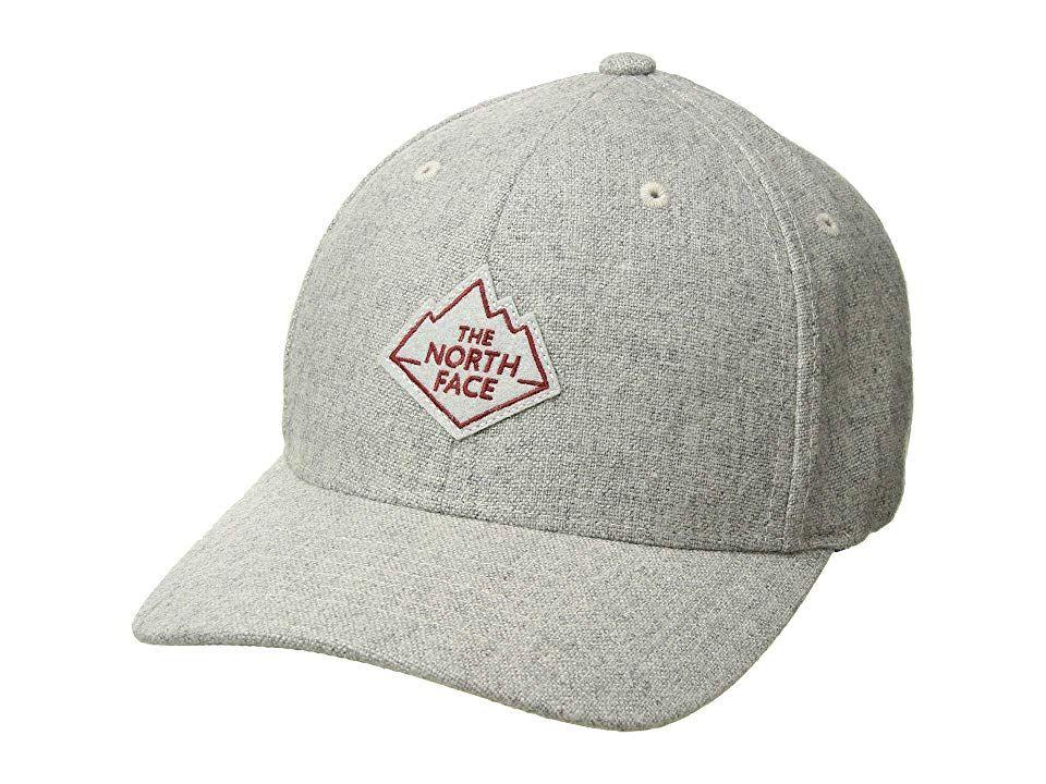 5882e170064 The North Face Team Ball Cap (TNF Light Grey Heather) Baseball Caps. The