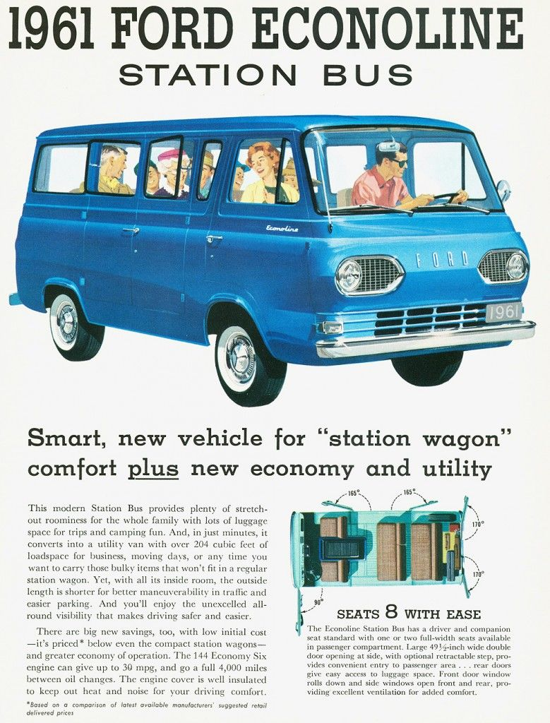 b9ec31c974d62c 10 The Ford Econoline van seated 8. We had a green one. With 10 kids to  drive around it was well used.