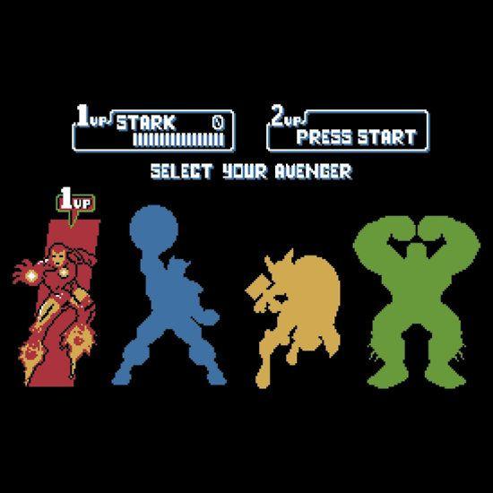 """Select Avenger"" T-Shirts & Hoodies by Baznet | RedBubble"