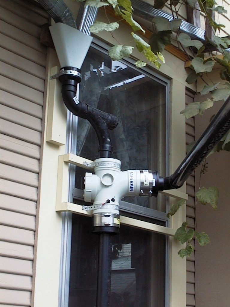 Rainwater Harvesting and Purification System - instructions and diagram on how-to set up and for storage