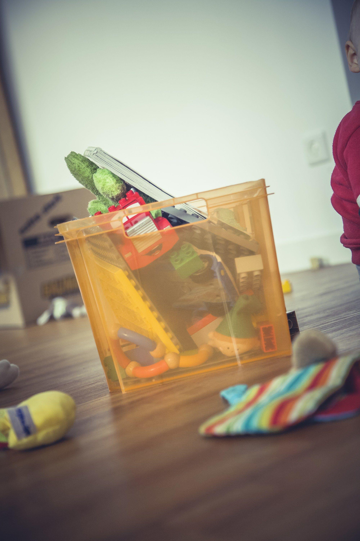 Spielsachen verstopfen das Kinderzimmer? Hier gibts super