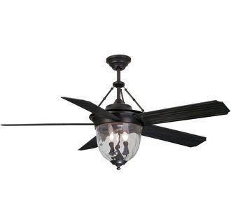 Iu0027m Thinking This Ceiling Fan In LR Ellington Fans KM52ABZ5LKRC  Knightsbridge 5 Blade 52