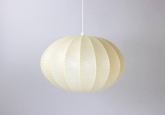 Mid Century Cocoon Lamp Lamp Shade Pendant Lamp Pendant Light
