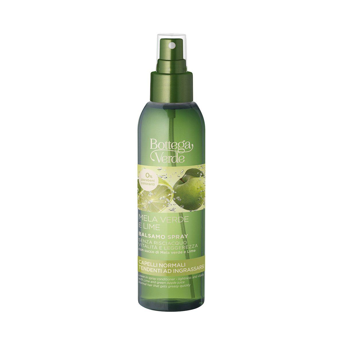 Mela Verde E Lime Balsamo Spray Senza Risciacquo Nel 2021 Balsamo Spray Shampoo