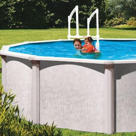 Trevi Java Above Ground Pool 27 Oval In Ground Pools Buying Appliances Above Ground Pool