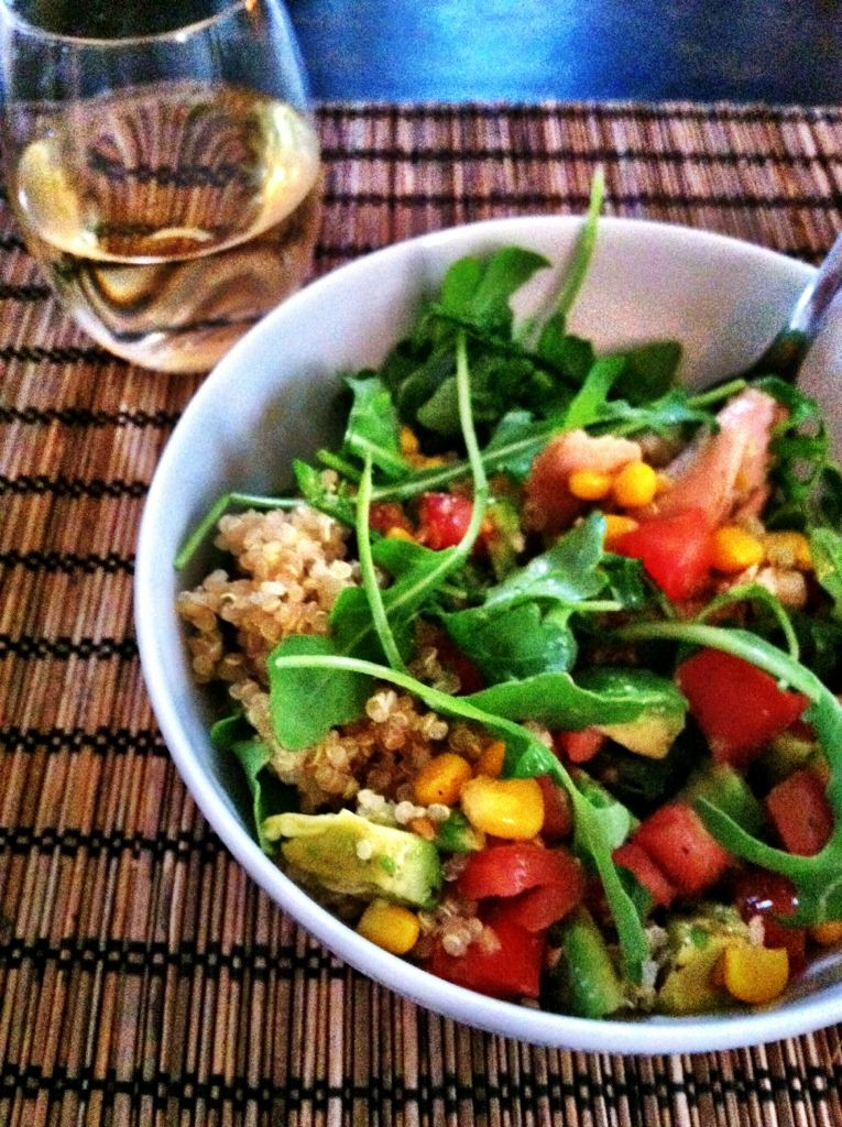 crock pot chicken salad | Chicken breasts, Arugula salad ...