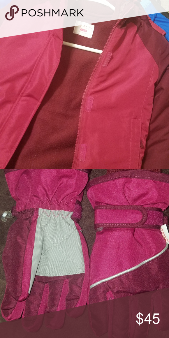 3 in 1 jacket and matching gloves