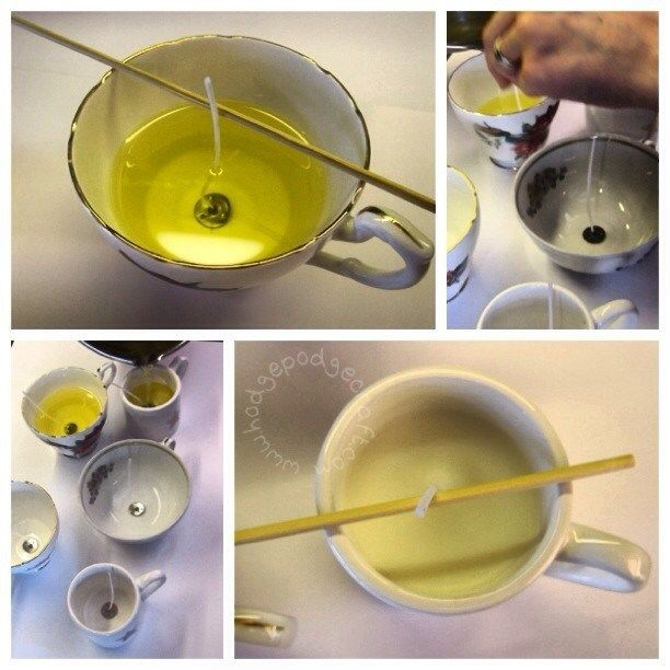 How To Make Scented Candles In A Teacup: A Step-by-step