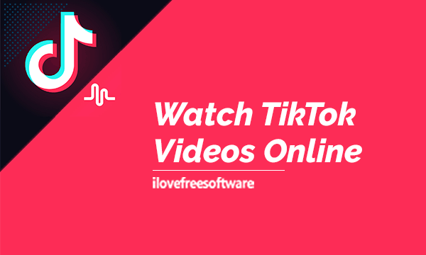 Love Free Software Watch Tiktok Videos Online By Country Without Having Tiktok Account Here You Can Watch Tiktok Videos View M Video Online Videos Online