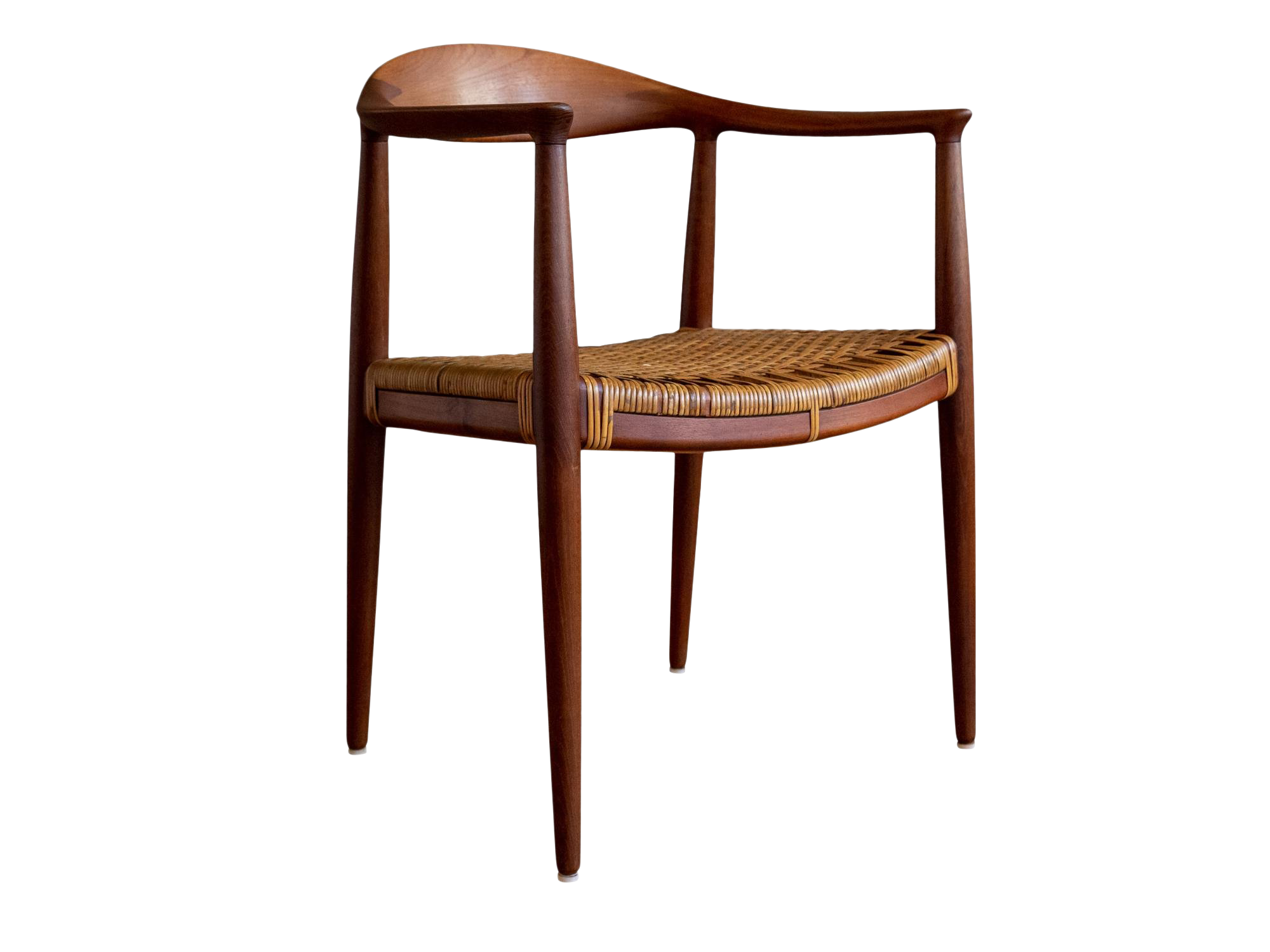 Exquisite Kennedy Teak Chair By Hans Wegner For Johannes Hansen