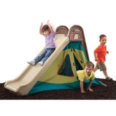 Step 2 Fort Slide Away Sears Sears Canada Kids Climber Outdoor Play Kids Playground