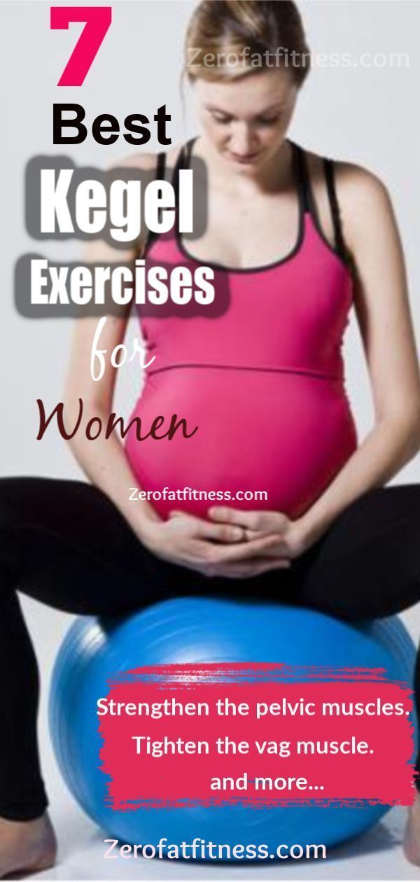 7 Best Kegel Exercises for Pregnant Women: How to do Kegel Exercises (Kegel Floor) for Women.. Tight...