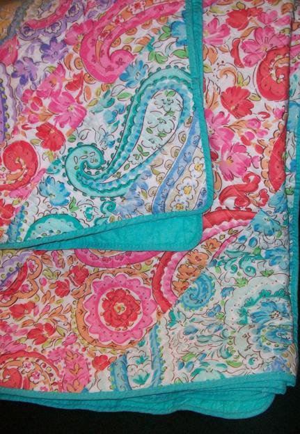Cynthia Rowley Quilt And Sham Quilts Fabric Cynthia Rowley