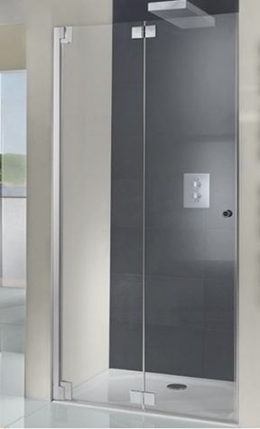 Hsk K2p Pivot Bifold Door For Recess Bifold Shower Door Shower Stall Wet Room Shower