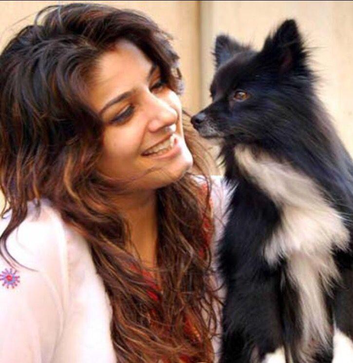 Raveena Long Layers Bollywood Celebrities Celebrities Pets