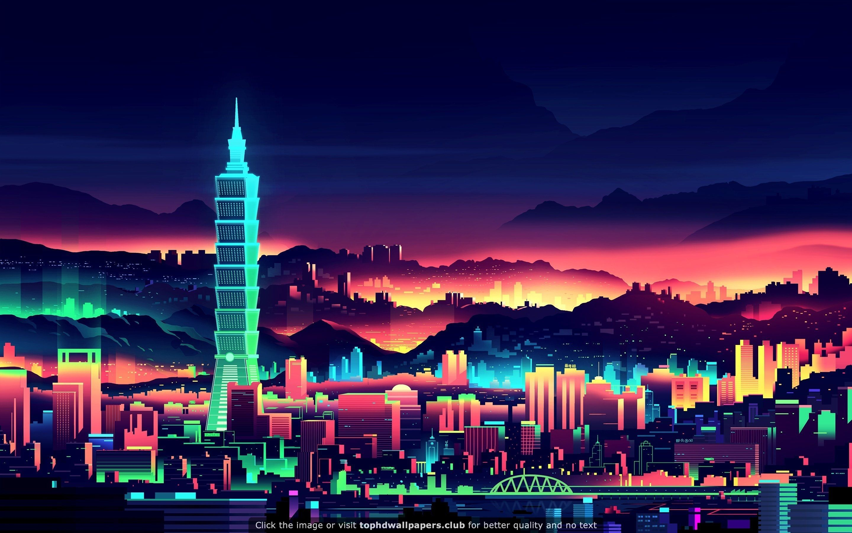 A Pretty Nice Neon Hd Wallpaper Vaporwave Wallpaper Neon Wallpaper City Wallpaper