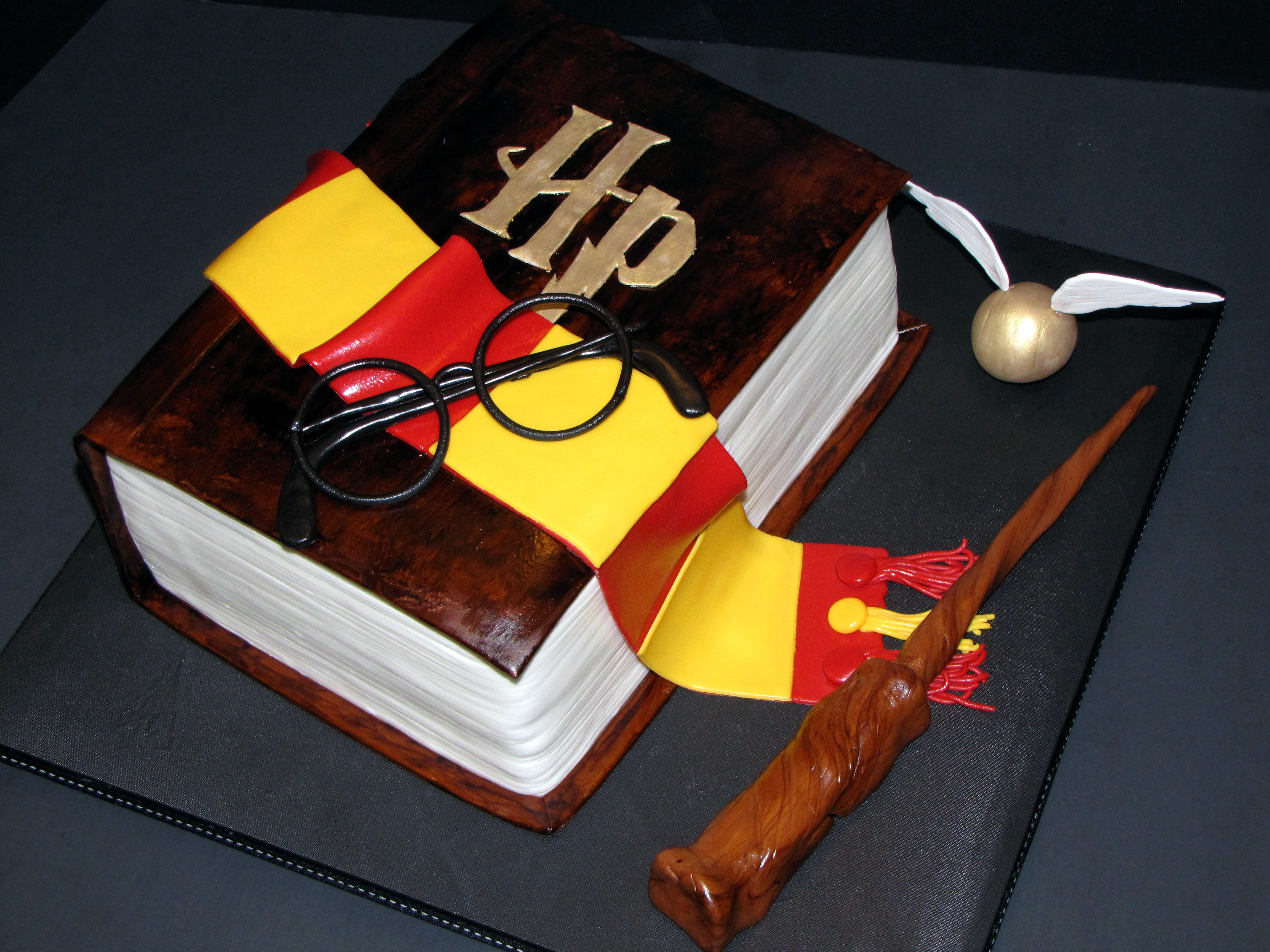 Harry Potter Book Birthday Cake Cake Decorating Community