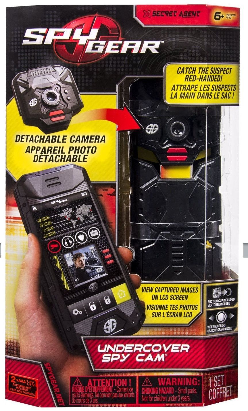 223a81930 Spy Gear Undercover Toy Spy Cam w/Motion Sensor by Toysmith Kids will love  this undercover spy camera for catching suspects red handed.