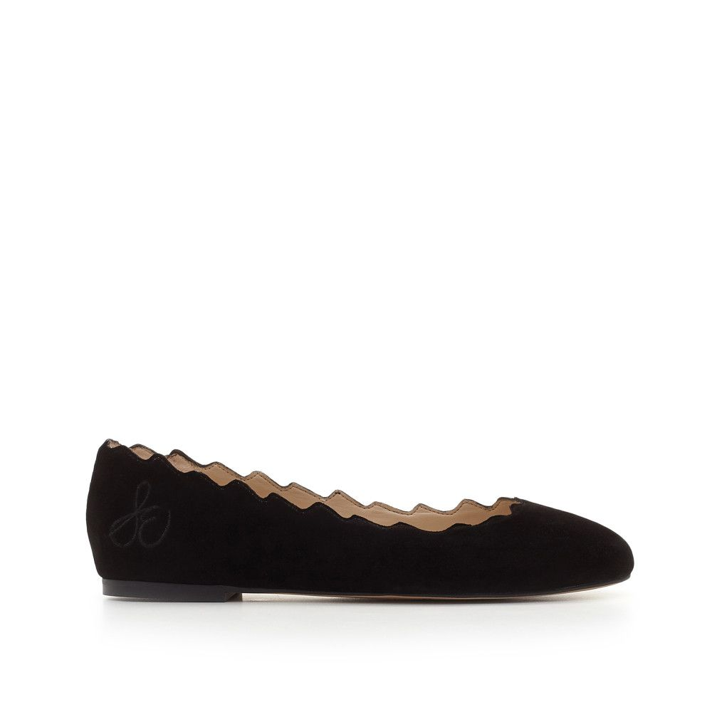 Our Francis scalloped trim ballet flat