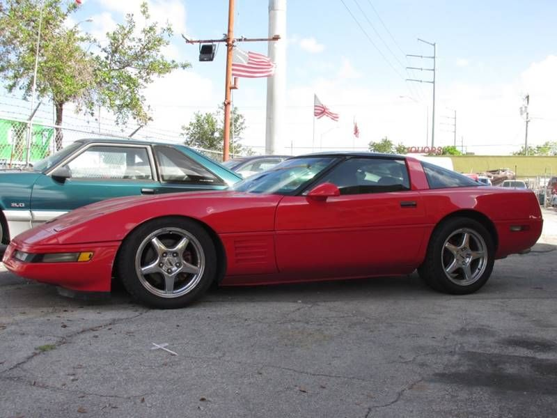 This 1994 Chevrolet Corvette Is Listed On Carsforsale Com For 7 450 In Miami Fl This Vehicle Includes Front Air Condi Chevrolet Corvette Corvette Chevrolet