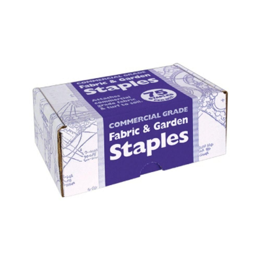 Easy Gardener Steel Fabric and Sod Staples (75-Pack)-815 at The Home Depot