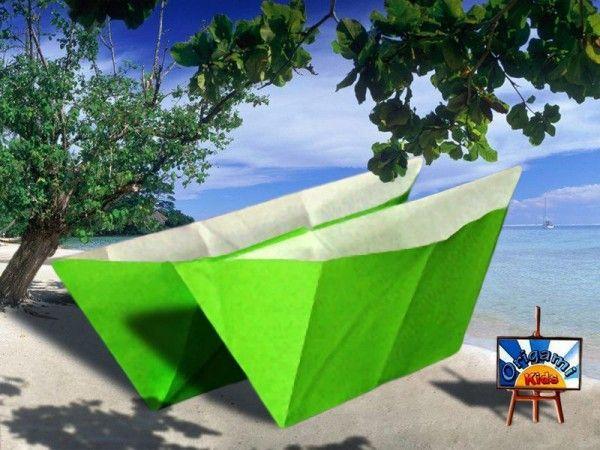"""<a href=""""http://fr.origami-kids.com/bateau-de-papier"""">Comment faire un Bateau en Papier</a> Un bateau en origami pour l'éveil de nos enfants. Plier du papier pour obtenir un petit bateau, c'est magique! L'Origami aura un effet positif sur la dextérité et la compréhension des instructions de votre enfant. En outre, il vous permettra de construire votre propre jouet facilement et avec peu de moyens."""