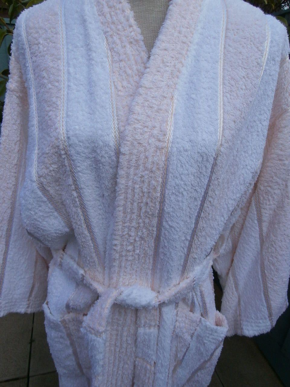 Ladies Vintage Dressing Gown Towelling Bath Robe 12 | eBay ...