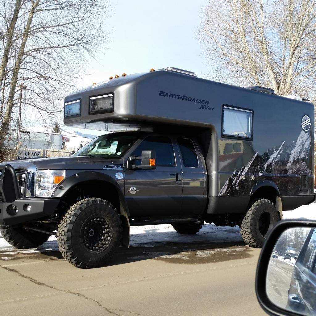 Big Custom Camper Sightings