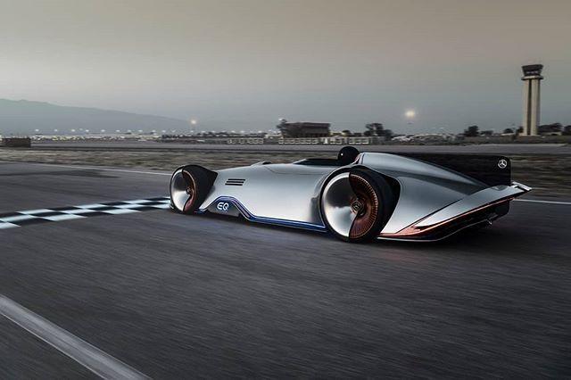 Mercedes-Benz Vision EQ Silver Arrow Concept - 750 hp electric hommage to legendary W125 racecar from 1937. . . #cardesign #mercedes #mercedesbenz #visionEQ #EQ #SilverArrow #electric #electriccar #germanDesign #concept #conceptdesign #racecar #racing #future #pebblebeach #pebblebeach2018 #montereycarweek #pebblebeachconcours #autodesign #conceptcar #conceptlawn #automotivedesign#transportdesign #vehicledesign #cardesigner #vision #car #instacar #carsofinstagram #cargram #pebblebeach #monterey #