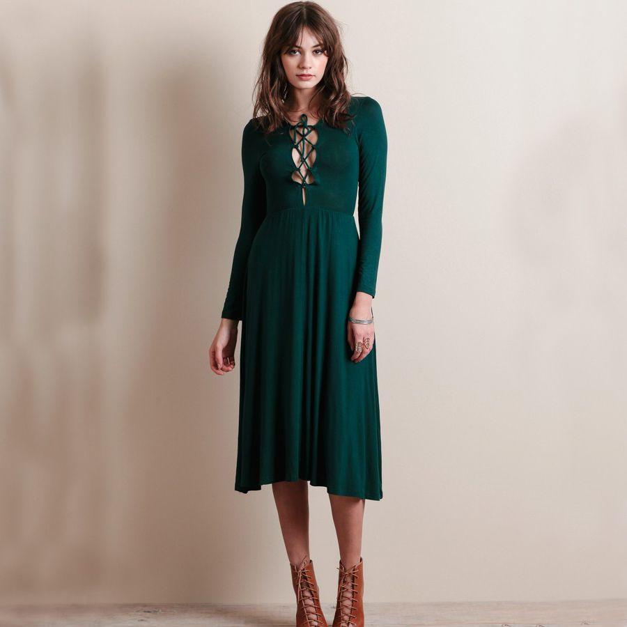 green midi dress dressesumore pinterest green midi