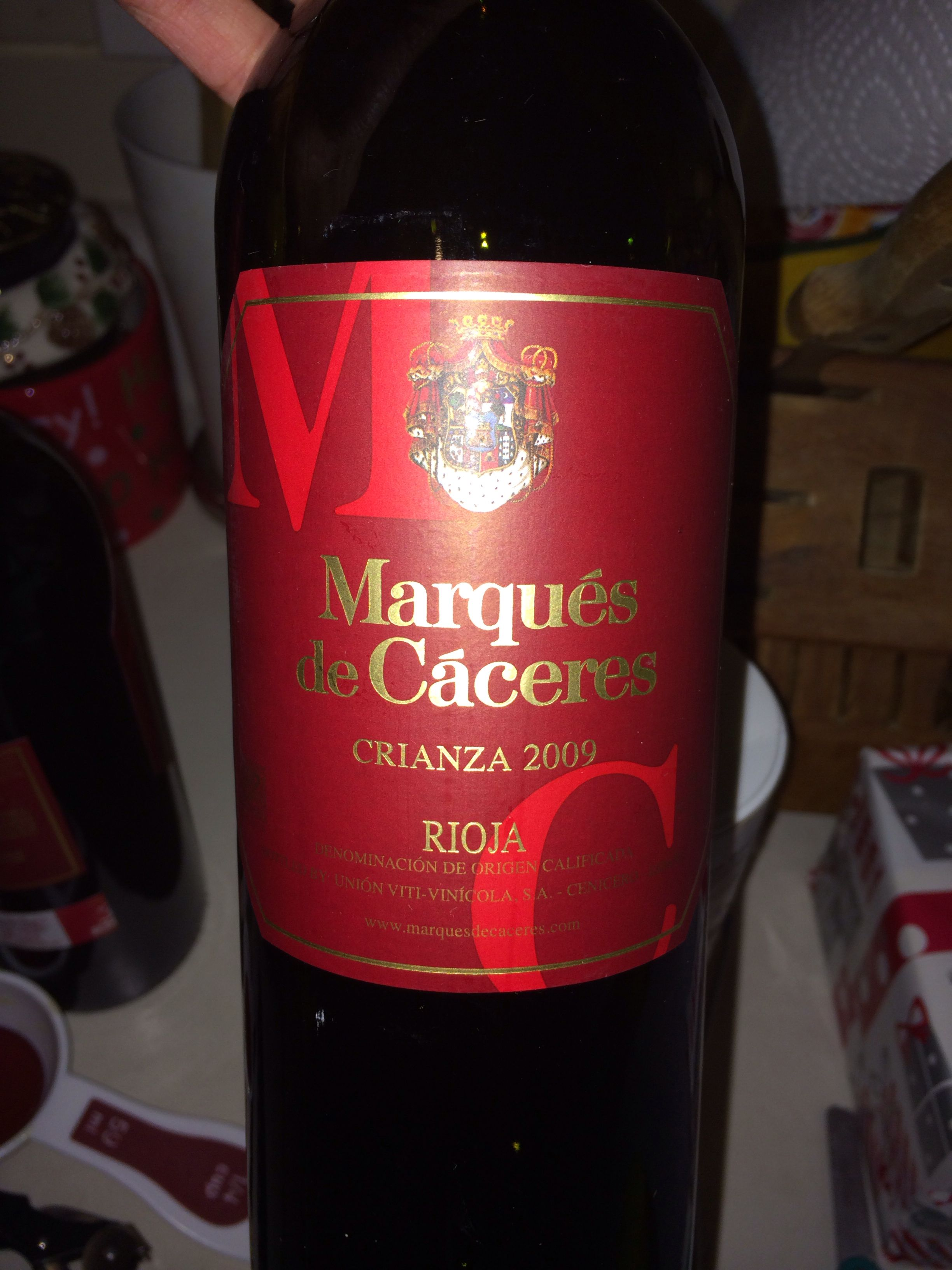 Rioja Marques De Caceres Nice For Making Sangrias