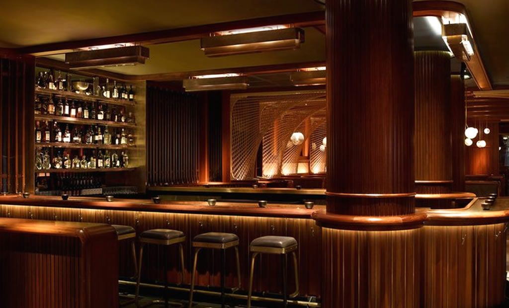 Luxury Bar Hospitality Interior Design of Forty Four Restaurant at