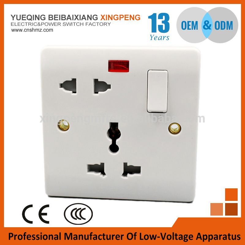 Free SamplesWall Switch Socket Brand Xiantai1gang 5 Pin Wall With Led Indicator Light Photo Detailed About