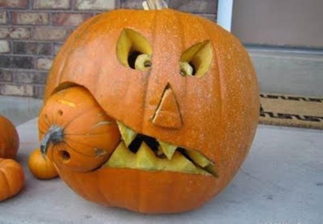 amazing-halloween-pumpkins Courges d halloween Pinterest