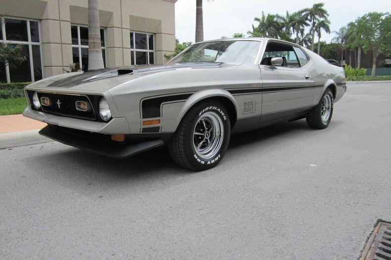 1971 Mustang Mach 1 429 Cobra Jet Carros Y Motos Motos