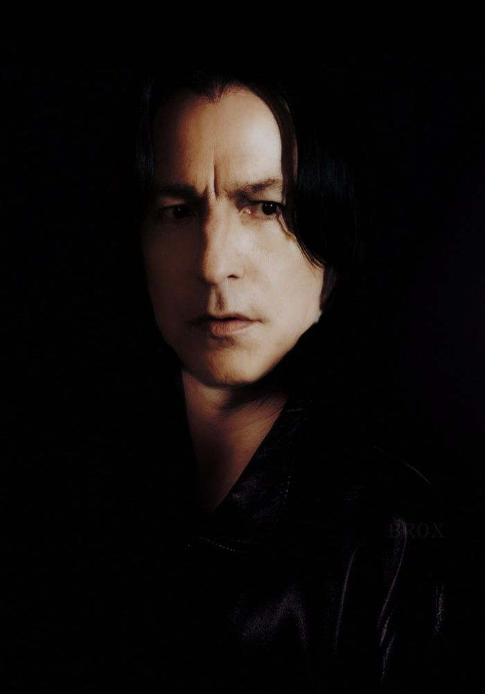 Alan Rickman as Severus Snape (Harry Potter)