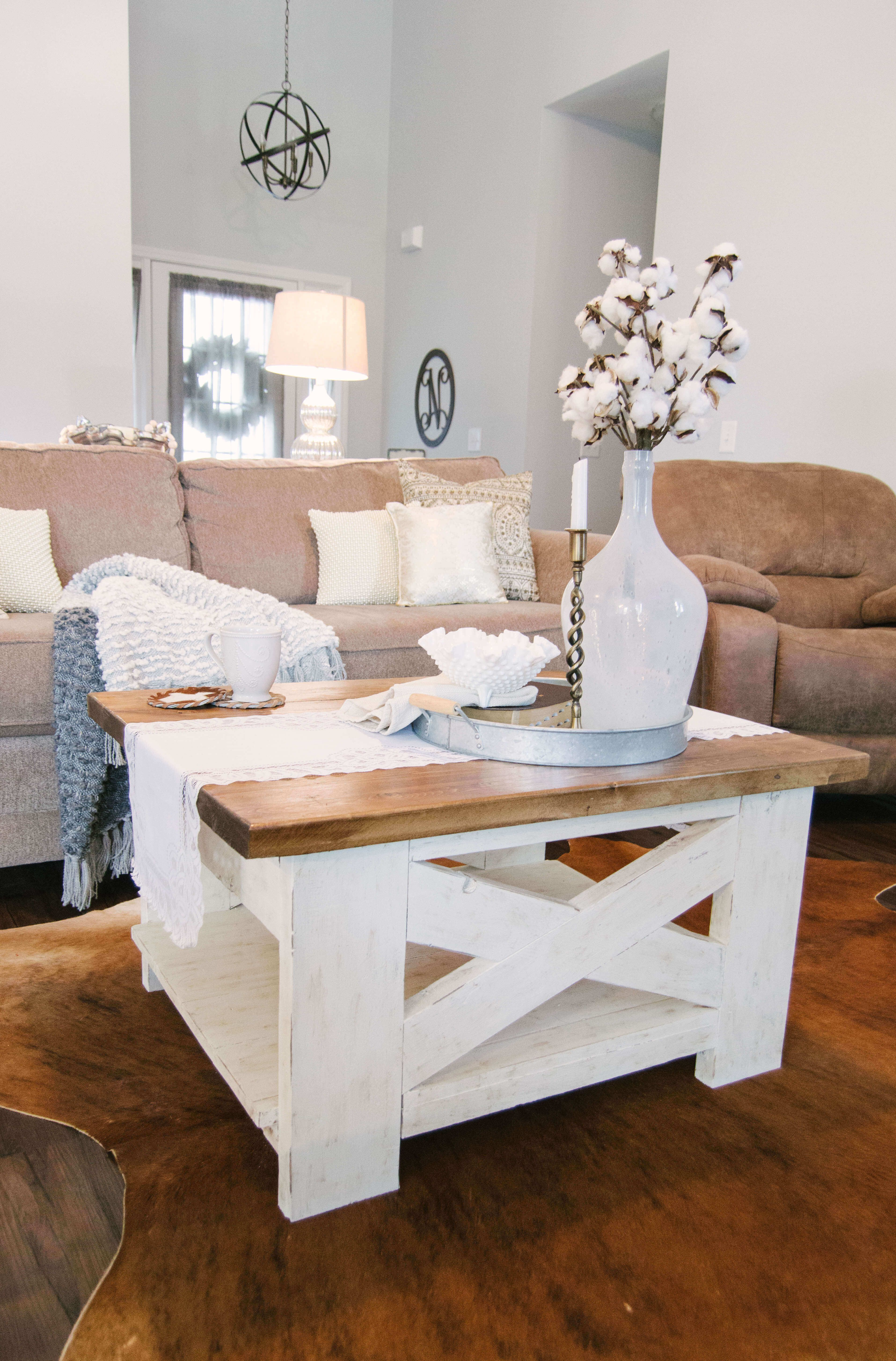 Handcrafted Farmhouse Coffee Table Diy Farmhouse Farmhouse Style Farmhouse Decor Farmh Shabby Chic Coffee Table Coffee Table Farmhouse Farmhouse Chic Decor