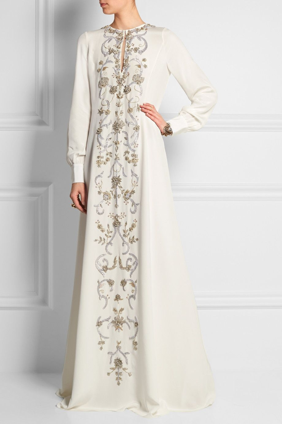 Clothes · Oscar de la Renta | Embroidered ...