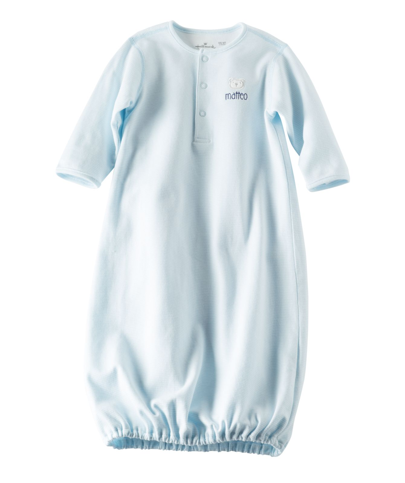 92eca572a Sweet little sleep gown you can personalize for baby boy - from Hallmark  Baby