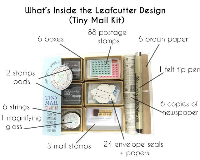 The World's Smallest Post Service: Leafcutter Designs Review - Blushingkay