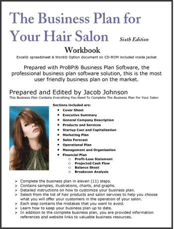 The Business Plan for Your Hair Salon Business Plans Pinterest - how to do a profit loss statement