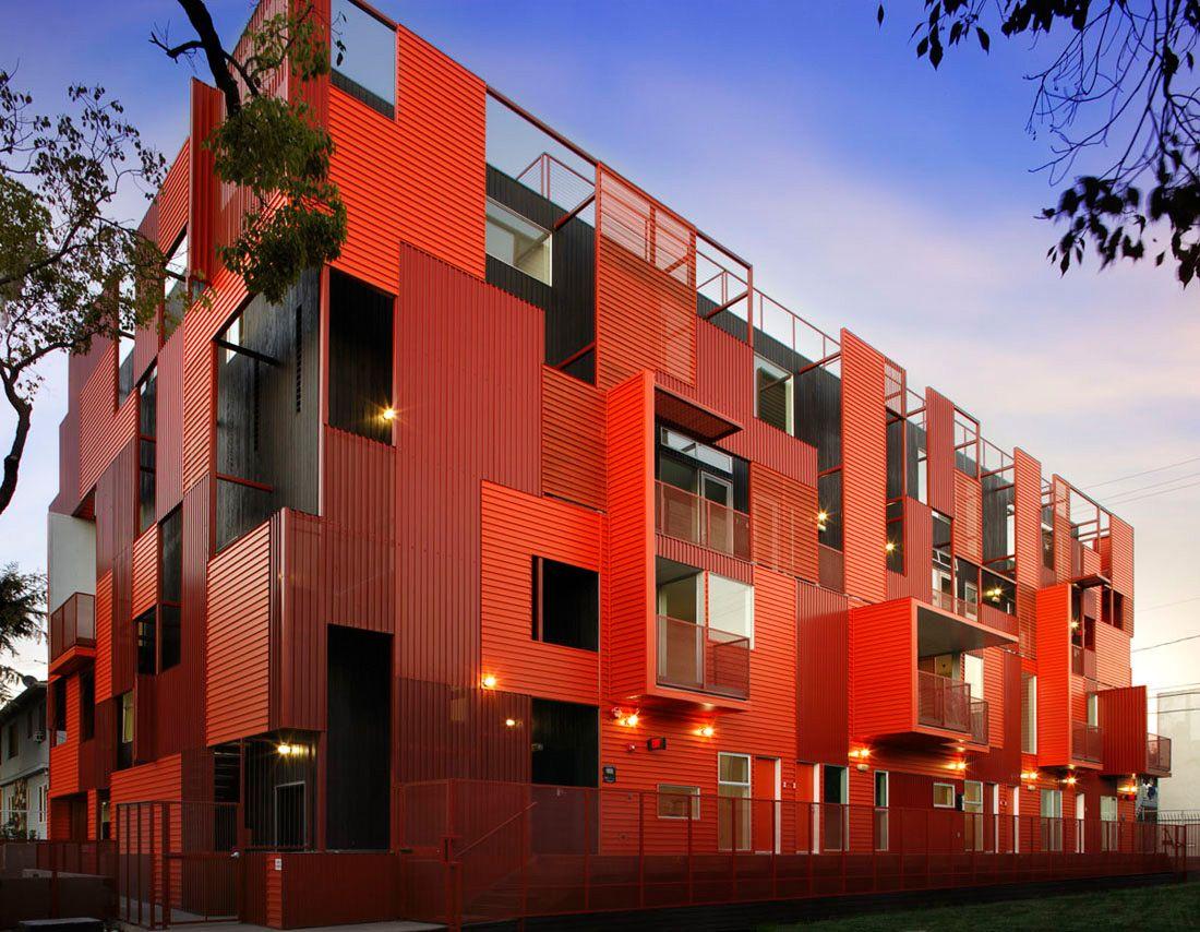 House casa arquitectura vivienda colectiva arquitectura for Diseno exterior casa contemporanea