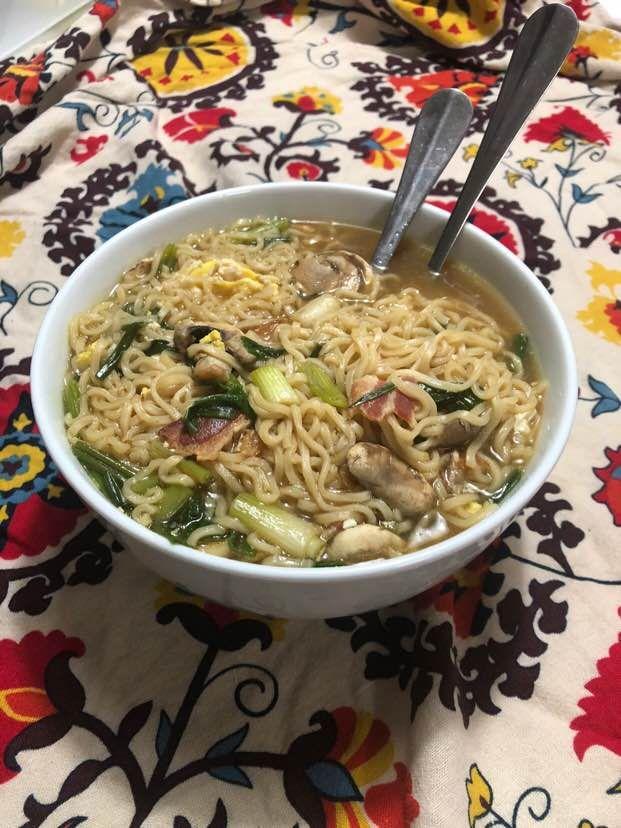 how to eat well while broke my mom's ramen recipe  ramen