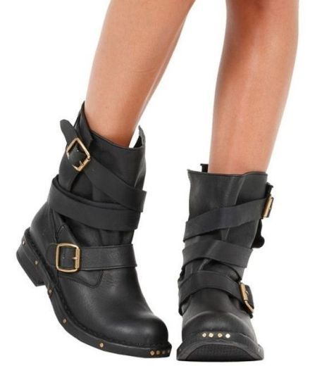 Pictures of Biker Boots