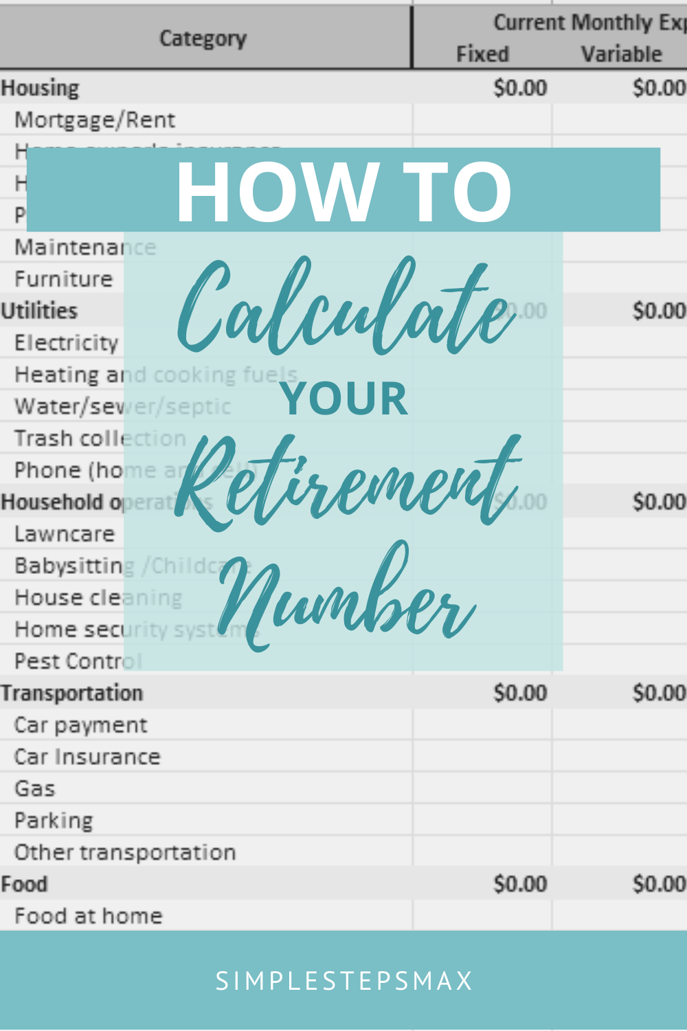 Ever Wonder How Much You Need To Save To Retire Retirement Budget Budget Planning Retirement Planning