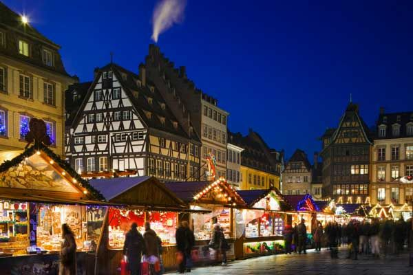 Mercados navideños - Estrasburgo